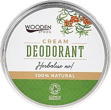 Düfte, Parfümerie und Kosmetik Deocreme mit Kräutern - Wooden Spoon Herbalise Me Cream Deodorant