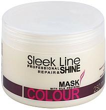 Düfte, Parfümerie und Kosmetik Regenerierende Maske für gefärbtes Haar - Stapiz Sleek Line Colour Mask