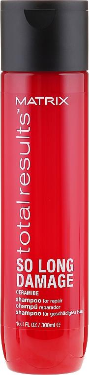 Regenerierendes Shampoo für geschädigtes Haar mit Ceramiden - Matrix Total Results So Long Damage Shampoo