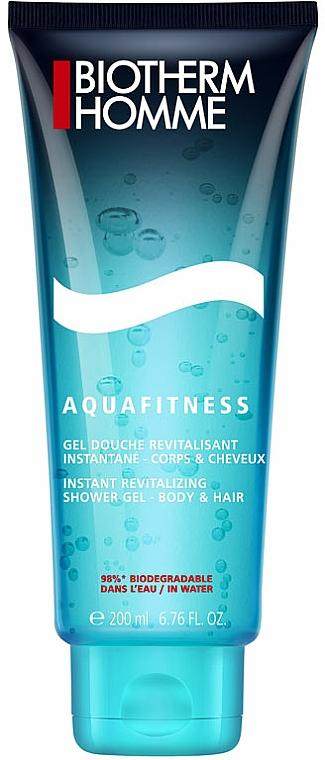 Shampoo und Duschgel für Babys - Biotherm Homme Aquafitness Shower Gel Body & Hair