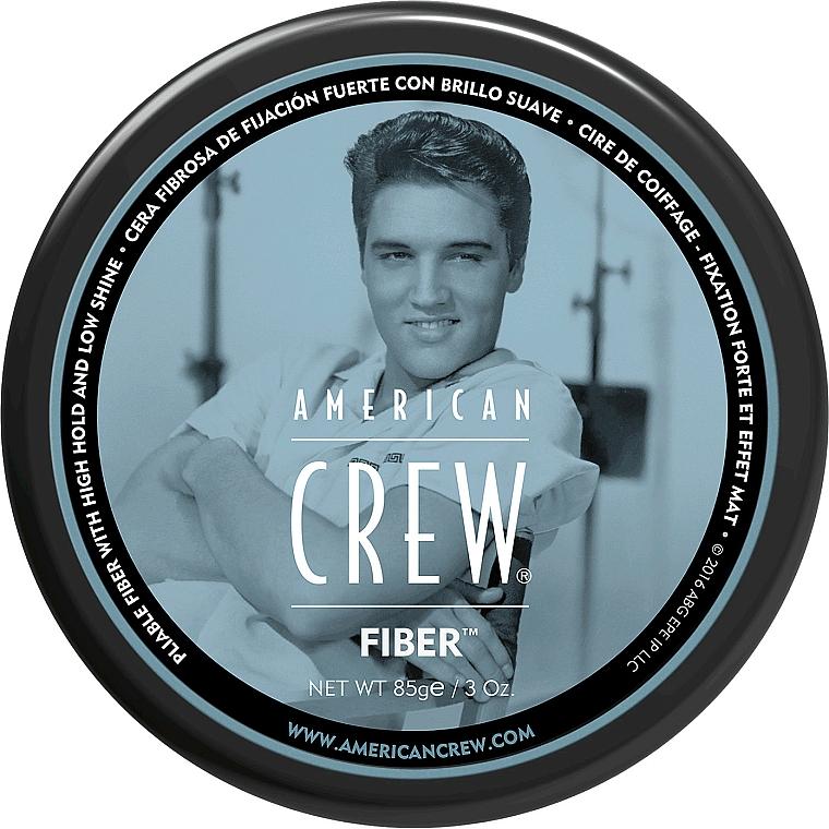 Modellierende Haarpasta mit starkem Halt und Matt-Effekt - American Crew Classic Fiber