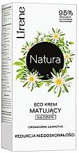 Düfte, Parfümerie und Kosmetik Mattierende Tagescreme zur Regulierung von Unvollkommenheiten mit Edelweiß - Lirene Natura Eco Cream