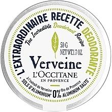 Düfte, Parfümerie und Kosmetik Deo-Creme Eisenkraut - L'Occitane Verbena Deodorant
