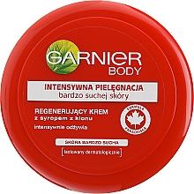 Düfte, Parfümerie und Kosmetik Intensiv pflegende Gesichts- und Körpercreme für sehr trockene Haut - Garnier Face And Body Cream