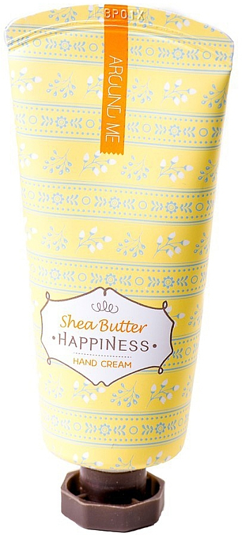 Handcreme mit Sheabutter - Welcos Around Me Happiness Hand Cream Shea Butter