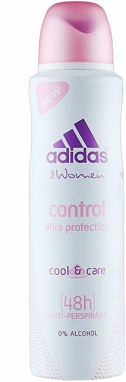 Deospray Antitranspirant - Adidas Anti-Perspirant Control Ultra Protection 48h — Bild N1
