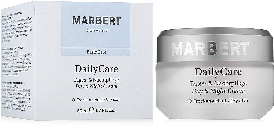 Tages- und Nachtcreme für trockene Haut - Marbert Basic Care Daily Care