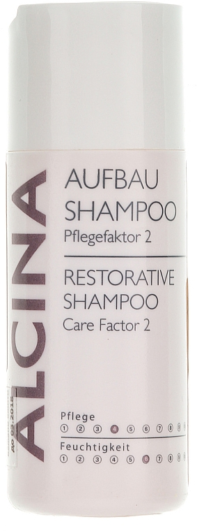 Feuchtigkeitsspendendes und pflegendes Aufbau-Shampoo - Alcina Care Factor 2 Restorative Shampoo
