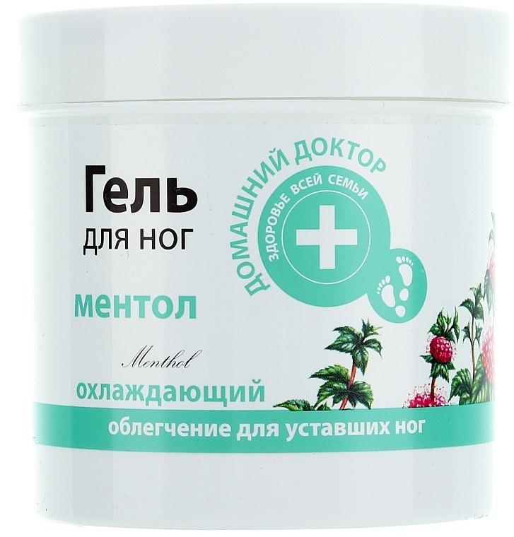 Kühlendes Fußgel mit Menthol - Hausarzt