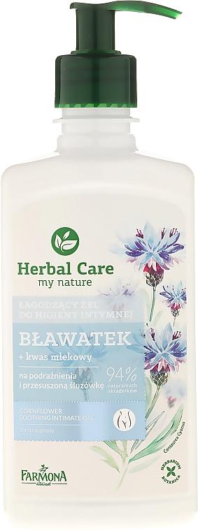 Beruhigendes Intim-Waschgel mit Kornblume - Farmona Herbal Care