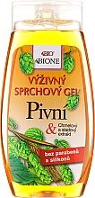 Düfte, Parfümerie und Kosmetik Pflegendes Duschgel mit Bierhefe - Bione Cosmetics Beer Nourishing Shower Gel