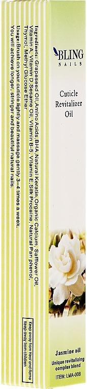 Nagelhautöl mit Jasmin - Bling Nails Cuticle Revitalizer Oil Jasmine Oil