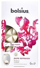Düfte, Parfümerie und Kosmetik Tart-Duftwachs Rose & Bernstein - Bolsius True Moods Collection Pure Romance Rose & Amber Smart Wax System