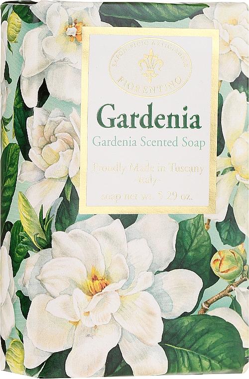 Naturseife mit Gardenienduft - Saponificio Artigianale Fiorentino Masaccio Gardenia Soap