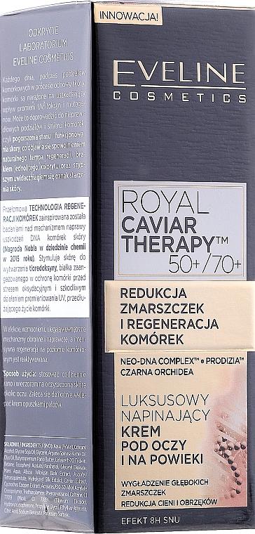 Glättungscreme für die Augenpartie - Eveline Cosmetics Royal Caviar Therapy Eye Cream