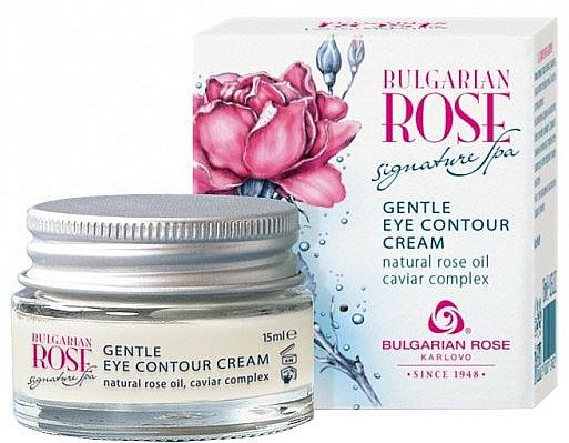 Zarte Augenkonturcreme - Bulgarian Rose Signature Spa Gentle Eye Contour Cream