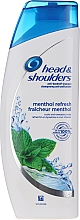"Düfte, Parfümerie und Kosmetik Anti-Schuppen Shampoo ""Menthol Fresh"" - Head & Shoulders Menthol"