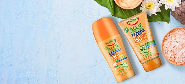 Hol dir ein Sonnenschutzspray für Kinder geschenkt beim Kauf von zwei Equilibra Produkten