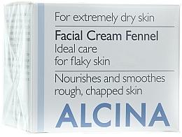 Düfte, Parfümerie und Kosmetik Gesichtscreme mit Fenchel - Alcina T Facial Cream Fennel