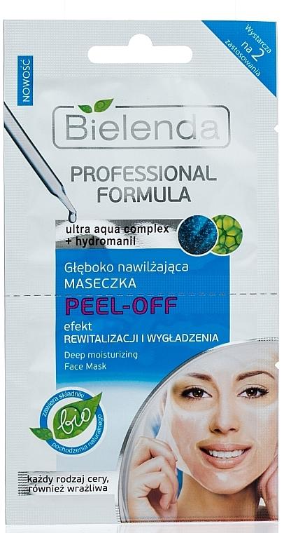 Feuchtigkeitsspendende Gesichtsmaske Peel-Off - Bielenda Professional Formula — Bild N1