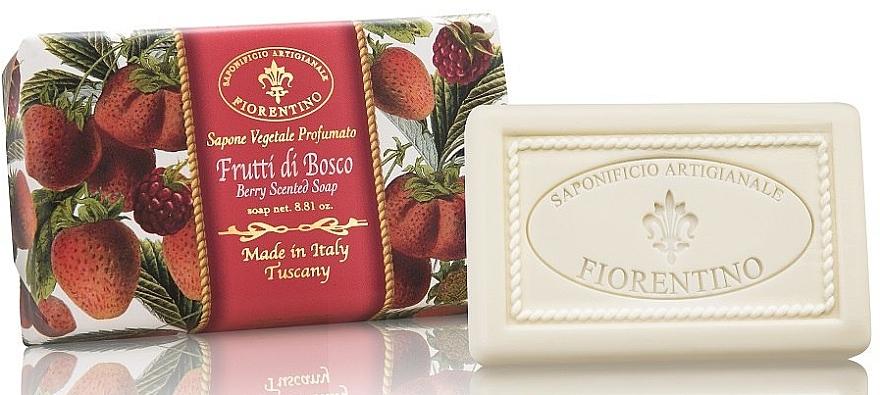 Naturseife Berry - Saponificio Artigianale Fiorentino Berry Scented Soap Armonia Collection