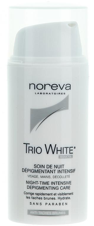 Nachtcreme für das Gesicht gegen Pigmentflecken - Noreva Laboratoires Exfoliac Trio White Night-time Intensive Depigmenting Care