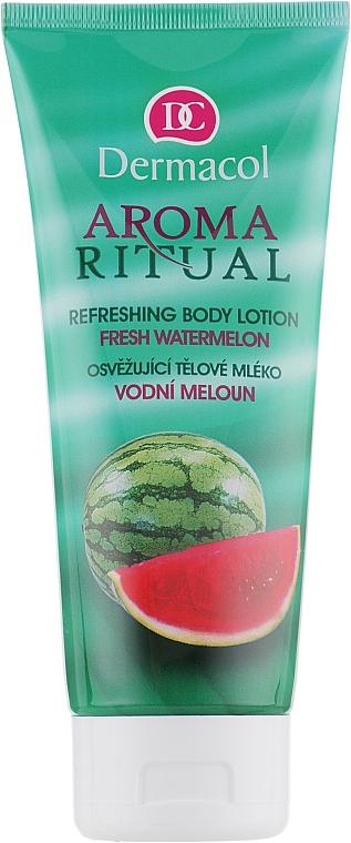Erfrischende Körperlotion mit Wassermelonenduft - Dermacol Body Aroma Ritual Refreshing Body Lotion — Bild N1