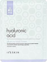 Düfte, Parfümerie und Kosmetik Feuchtigkeitsspendende Tuchmaske mit Hyaluronsäure - It's Skin Hyaluronic Acid Moisture Mask Sheet