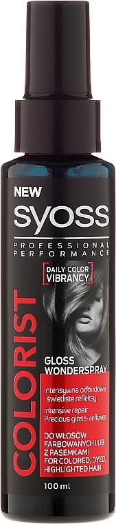 Gloss Wonderspray für gefärbtes Haar - Syoss Colorist Gloss Wonderspray Hair Spray