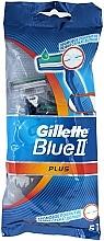 Düfte, Parfümerie und Kosmetik Set Einwegrasierer 5 St. - Gillette Blue II Plus