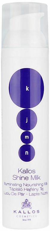 Aufbauende Haarglanzmilch - Kallos Cosmetics KJMN Krystal Milk