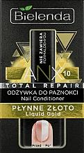 """Düfte, Parfümerie und Kosmetik Nagelbalsam """"Flüssiges Gold"""" - Bielenda Liquid Gold Nail Conditioner"""