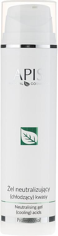 Kühlendes Gesichtsgel nach Säurebehandlung - APIS Professional Home TerApis Neutralising Gel (Cooling) Acids