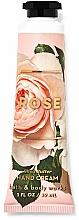 Düfte, Parfümerie und Kosmetik Handcreme mit Rose - Bath and Body Works Rose Shea Butter Hand Cream
