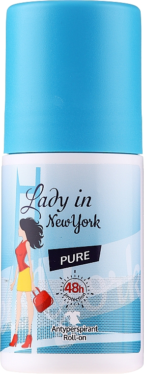 Deo Roll-on Antitranspirant - Lady In New York Pure Deodorant