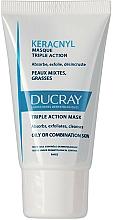 Gesichtsmaske für Problemhaut - Ducray Keracnyl Masque Triple Action — Bild N3
