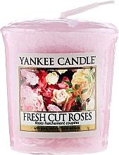 Düfte, Parfümerie und Kosmetik Votivkerze Fresh Cut Roses - Yankee Candle Fresh Cut Roses Sampler Votive