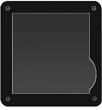 Düfte, Parfümerie und Kosmetik Schminkpalette klein - Vipera Magnetic Play Zone Small Satin Palette