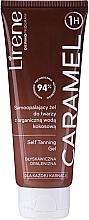 Düfte, Parfümerie und Kosmetik Selbstbräunendes Gel mit Bio-Kokoswasser - Lirene Self Tanning Gel Caramel