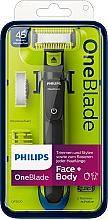 Düfte, Parfümerie und Kosmetik Trimmer, Styler und Rasierer für Gesicht und Körper - Philips OneBlade Face + Body QP2620/20
