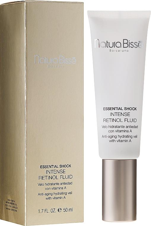Intensives Anti-Aging Gesichtsfluid mit Retinol - Natura Bisse Essential Shock Intense Retinol Fluid