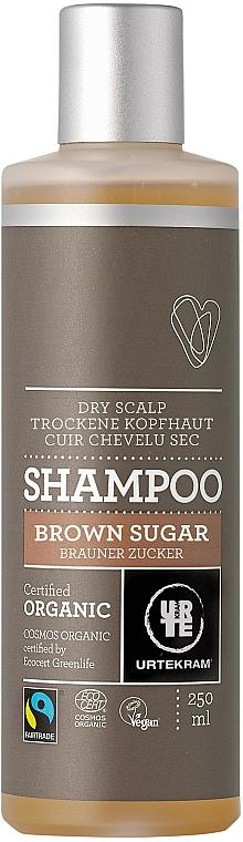 """Shampoo für trockene Kopfhaut """"Brauner Zucker"""" - Urtekram Brown Sugar Shampoo Dry Scalp"""