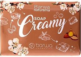 Düfte, Parfümerie und Kosmetik Seife mit Mandelöl und Rosenextrakt - Barwa Natural