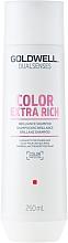 Düfte, Parfümerie und Kosmetik Farbbrillanz Shampoo für coloriertes, kräftiges bis widerspenstiges Haar - Goldwell Dualsenses Color Extra Rich Brilliance Shampoo