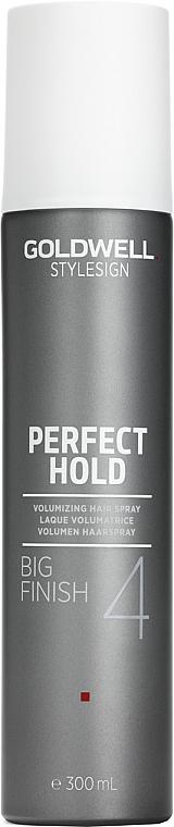 Volumen Haarspray Haltegrad 4 - Goldwell Style Sign Perfect Hold Big Finish Volumizing Hairspray