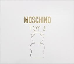Düfte, Parfümerie und Kosmetik Moschino Toy 2 - Duftset (Eau de Parfum 50ml + Körperlotion 50ml + Duschgel 50ml)