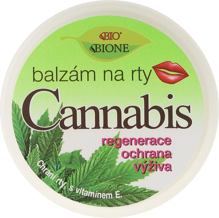 Lippenbalsam mit Hanföl, Vitamin E und UV-Schutz - Bione Cosmetics Cannabis Lip Balm with UV Filter and Vitamin E