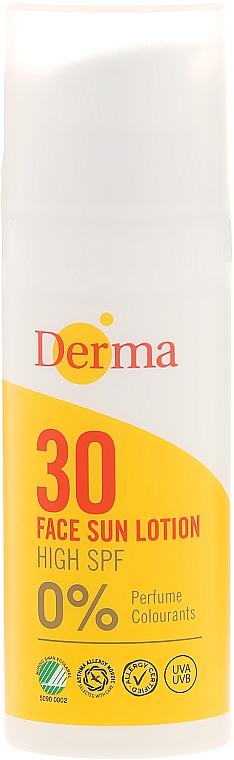 Sonnenschutzcreme für das Gesicht - Derma Sun Face Cream SPF30 High