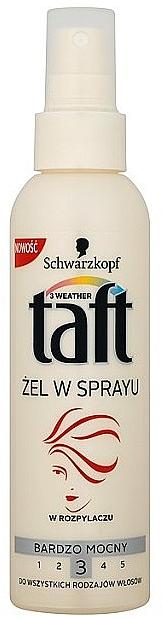 Haarspray-Gel für starke Fixierung - Schwarzkopf Taft Hair Spray