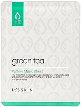 Düfte, Parfümerie und Kosmetik Feuchtigkeitsspendende Tuchmaske mit Grüntee-Extrakt - It's Skin Green Tea Watery Mask Sheet